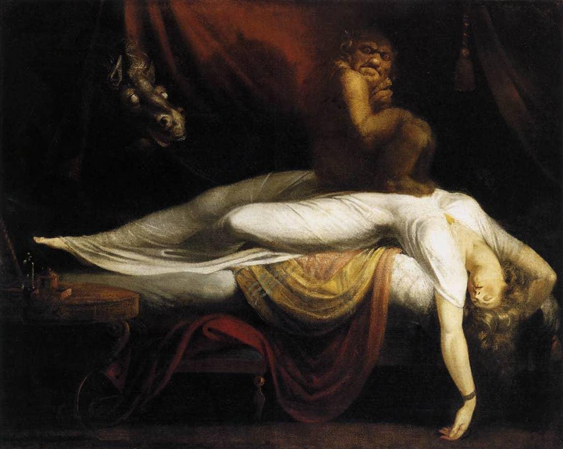 John Henry Fuseli's The Nightmare (1781) at Detroit Institute of Art, Michigan