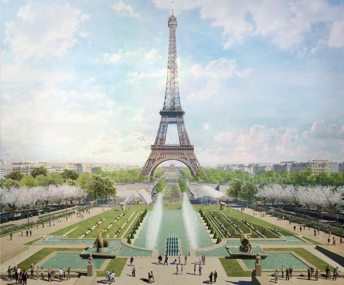 © GP+B – Site Tour Eiffel – Fontaine du Trocadéro