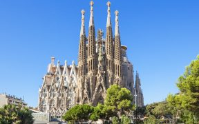 Sagrada Familia from Glamping Barcelona obtained its construction license 137 years after construction started.