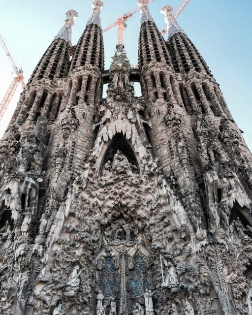 Sagrada Familia Nativity Facade. Photo by Liam Gant